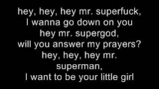 Mister Superstar Lyrics Marilyn Manson