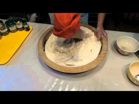 la-préparation-de-la-pâte-à-pain-traditionnelle-au-levain