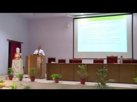 12 Institute Lecture Series, IIT(BHU), delivered by Mr. Sanjay Srivastava