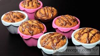 Ovocné vanilkové muffiny - videorecept