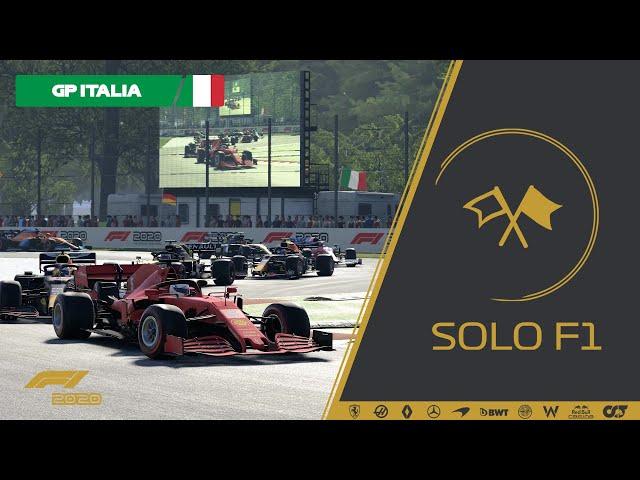 🔴 F1 2020 // Retransmisión SoloF1 (Gp Italia)