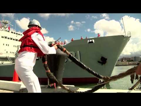 Chinese Navy Ships Visit Joint Base Pearl Harbor-Hickam