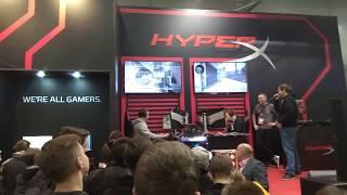 Игромир 2017. Стенд Hyper X. Матч liTTle против starix под комментарии Ceh9.