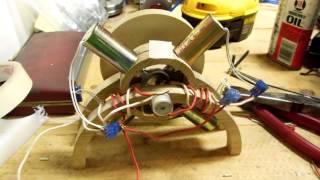 Quad - Solenoid Motor First Run