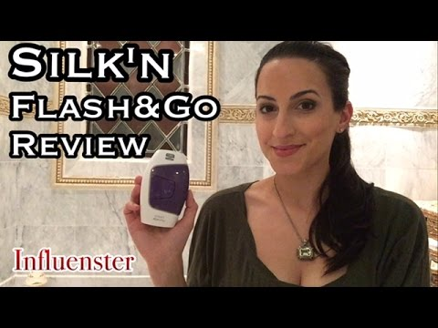 How To Use Silk'n Flash&Go Express   Permanent Hair Removal Review   PROMO CODE Discount