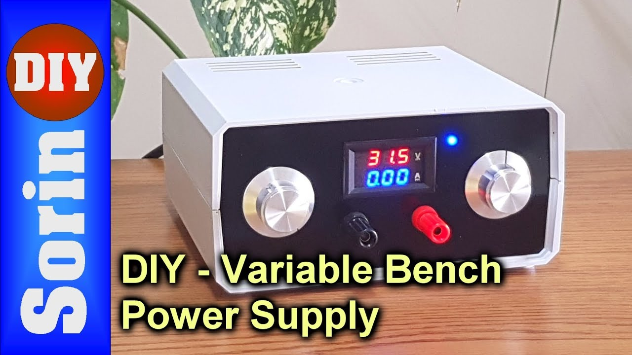 Diy - Variable Bench Power Supply  Very Powerful