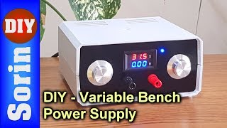 DIY - Variable Bench Power Supply (Very Powerful)