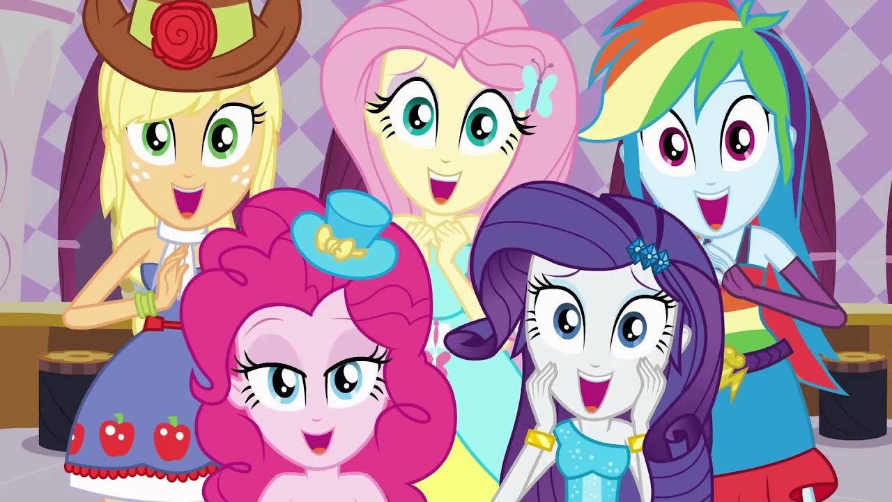 Combo My Little Pony: Equestria Girls - This is Our Big ...
