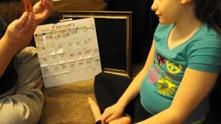Educating Madi ~ Calendar Skills