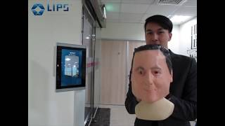 LIPSFace™ AC770 - Real 3D & AI -enabled Facial Recognition Terminal