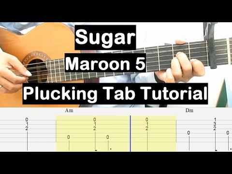 sugar-guitar-lesson-chords-plucking-tab-tutorial-guitar-lessons-for-beginners
