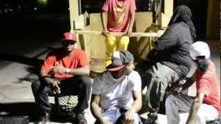 NEW!!! Here We Are- Shake Muhnee, Wonka, T9, Fly Rah, J-Realz EXCLUSIVE VIDEO!