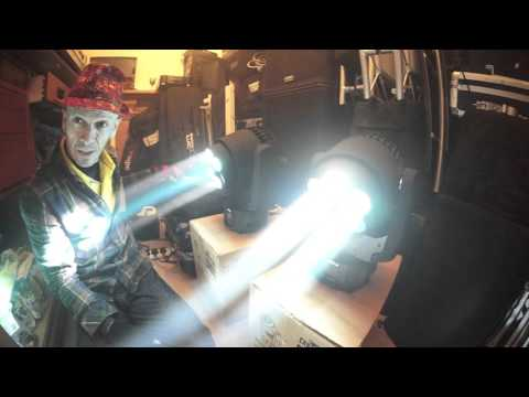 CHAUVET DJ INTIMIDATOR TRIO WASH MOVING HEAD WASH AND EFFECTS LIGHT CLUB MOBILE DJ