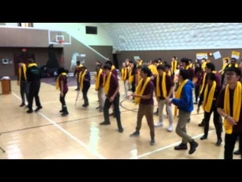 New Jersey United Christian Academy: School Choice Assembly Final Group Dance!