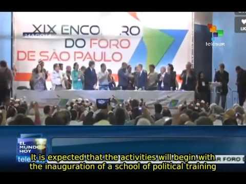 Sao Paulo Forum against imperialism begins in Bolivia