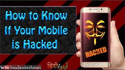 How to know If Your Mobile is HACKED | How To Remove Hacking or Spy Apps From Mobile