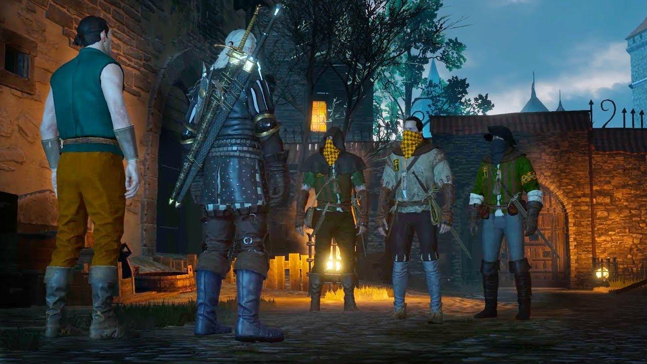 Swords Dumplings Geralt And Hattori The Best Swordsmith Of