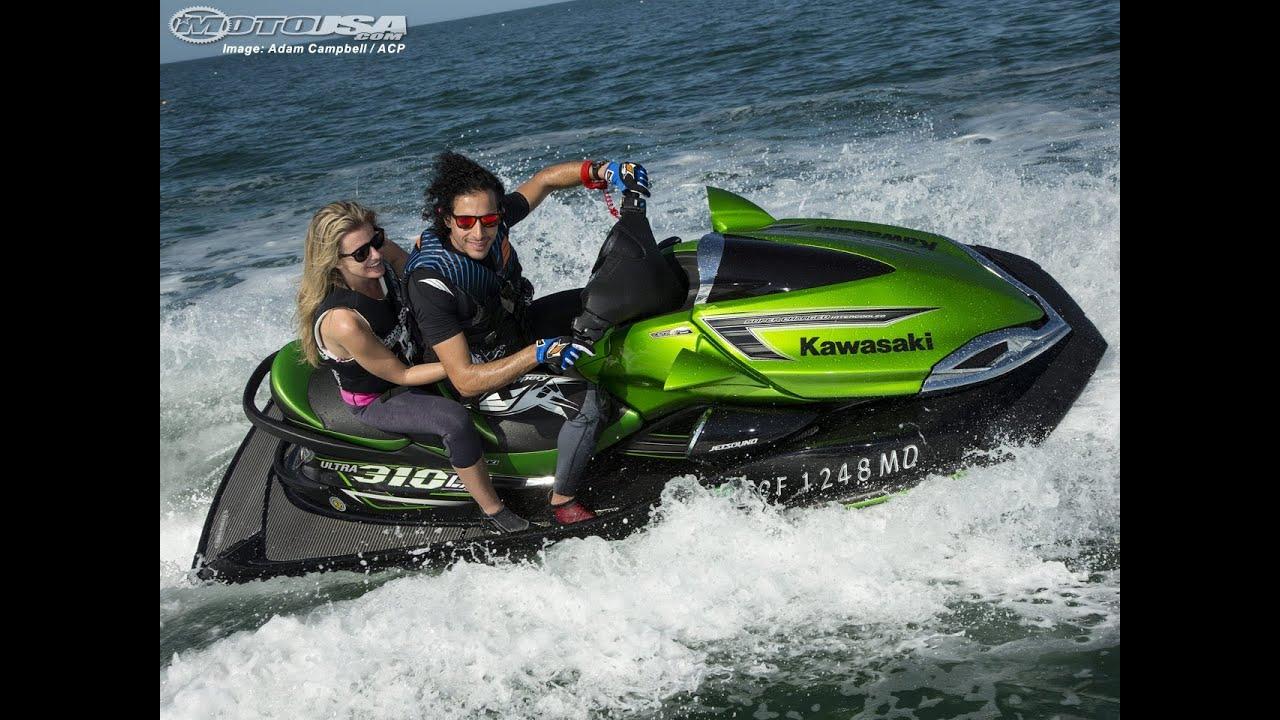 Ordinaire 2014 Kawasaki Jet Ski Ultra 310LX U0026 310R First Ride   MotoUSA   YouTube