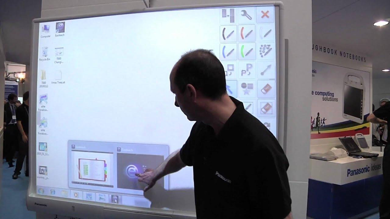 Panasonic Elite Panaboard Multi Touch Interactive