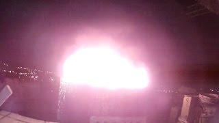 Горит битум на крыше 14 - этажки. Омск 2016г.(выезд на горение крыши частного дома, на месте ни чего подобного не наблюдается, оказывается горит самовос..., 2017-01-05T15:56:17.000Z)