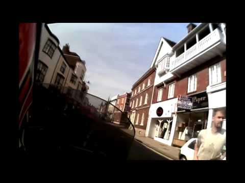 Motorcycle Tour of Lewes, East Sussex, UK
