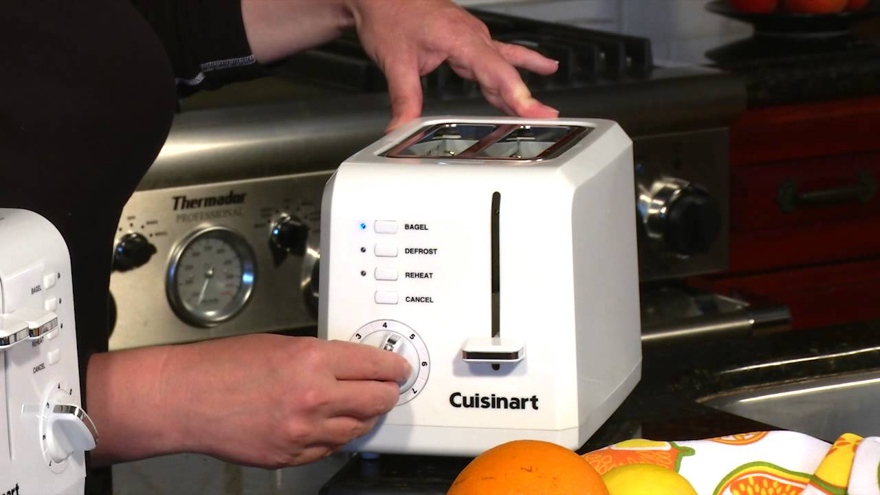 Cuisinart pact Toasters CPT 122 & CPT 142 Demo Video