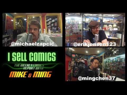 I Sell Comics #168 - Full Podcast Video with Erik Jensen