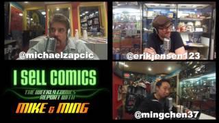 I Sell Comics #168 - Full Podcast Video with Erik Jensen