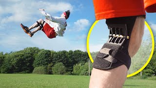 Jump HIGHER with these Spring Loaded Knee Braces!