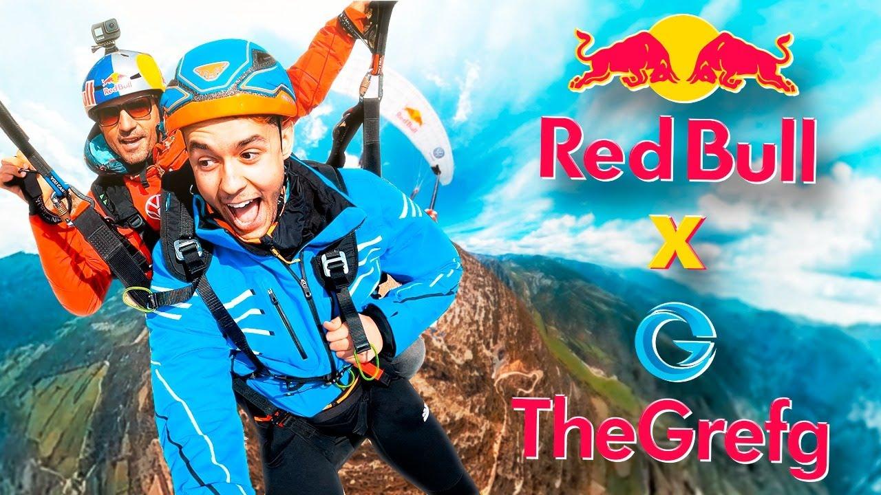 LA EXPERIENCIA MÁS EXTREMA DE MI VIDA | Red Bull x TheGrefg