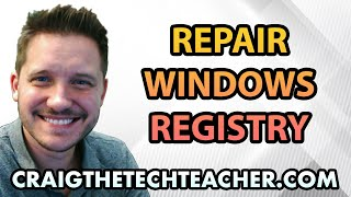 How To Repair Common Windows 8 Registry Errors - Ep. 7