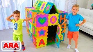 فلاد ونيكيتا بناء الملاعب الملونة