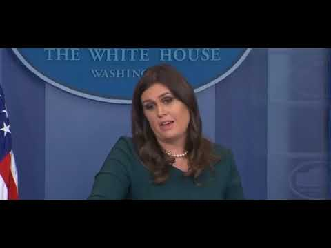 Sarah Huckabee Sanders Falls Apart When Confronted With John Kelly's Lies