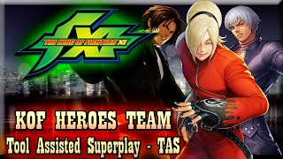 【TAS】KOF XI - KOF TEAM HEROES - ASH | K'DASH | KYO (CUSTOM SECRET TEAM)