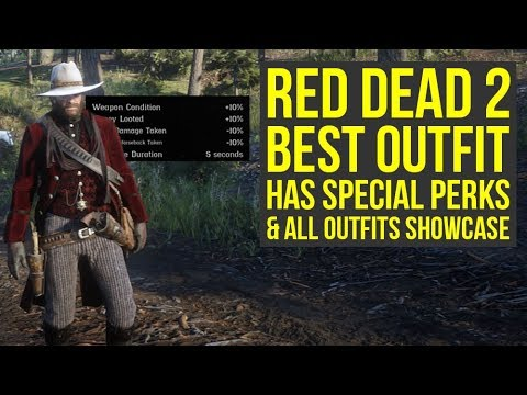 Red Dead Redemption 2 Best Outfit Has Special Perks All Outfits In