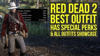 Red Dead Redemption 2 Best Outfit HAS SPECIAL PERKS & All Outfits In The Game (RDR2 Outfits)