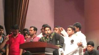 S M Jakir Hossain, General secretary, Bangladesh Student League, speech on 15 August part -1