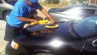 Espinal Veracruz. Puliendo el auto
