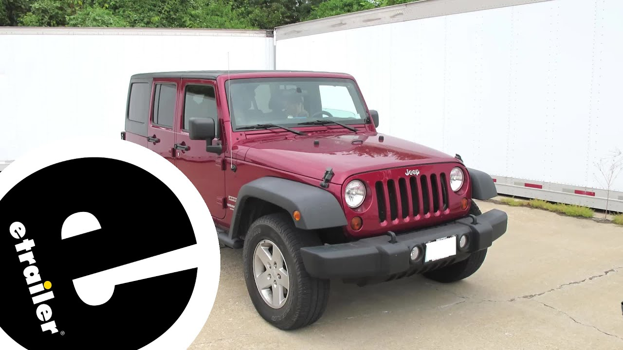 etrailer best 2007 jeep wrangler unlimited trailer