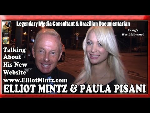 Elliot Mintz, Media Consultant, & Brazilian Journalist Paula Pisani Talk new website