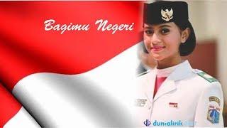 Gambar cover Lirik Lagu Padamu Negeri (Bagimu Negeri) Lagu Wajib Nasional