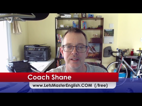 Let's Master English LIVE Episode 73 Coach Shane's ESL Live Stream