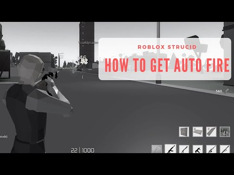 How To Get Auto Fire in Roblox Strucid!!!
