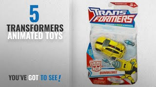 Top 10 Transformers Animated Toys [2018]: Transformers Animated Deluxe Action Figure - Autobot