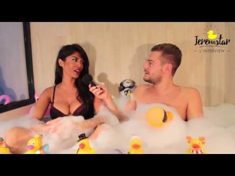Lauren (La Revanche des Ex) dans le bain de Jeremstar - INTERVIEW