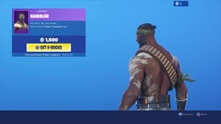 Recon Ranger Skin Has Returned Fortnite Item Shop September 14th 2019