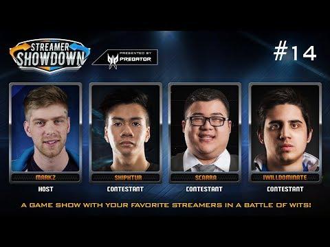 Streamer Showdown #14 - League of Legends (feat. Shiphtur, Scarra, IWillDominate, & MarkZ)