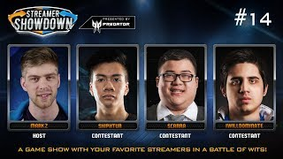 Streamer Showdown #14 - League of Legends (feat. Shiphtur, Scarra, IWillDominate, & MarkZ)
