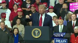 Full video: Trump rallies for Saccone in final days before Pennsylvania special election