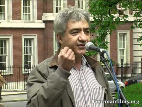 Abbas Edalat No to Nato Don't Attack Iran Troops Out of Afghanistan London Solidarity with Chicago Demonstrators London 19 05 12